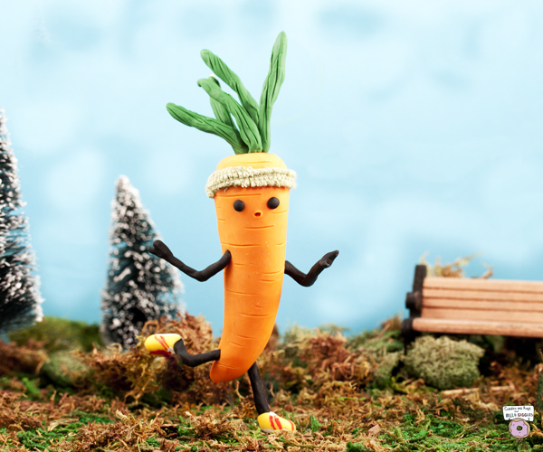 This is totally the year this carrot runs a marathon