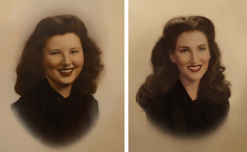 An artist replicated photos of 7 generations of women in her family, and it's stunning