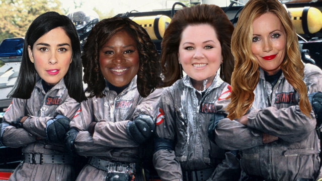Even more important news on the new lady 'Ghostbusters' movie