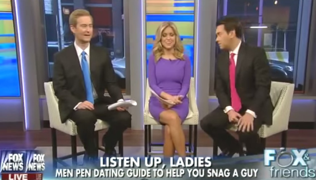 "Not OK: Fox News hosts tell women they should ""cater to their men's needs"""