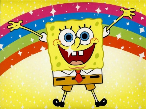 SpongeBob declares today the 'Day of Positivity.' Works for us.