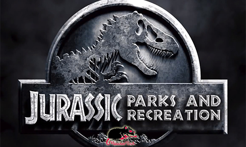 Jurassic Parks and Recreation: Andy Dwyer gets transferred in this amazing mashup