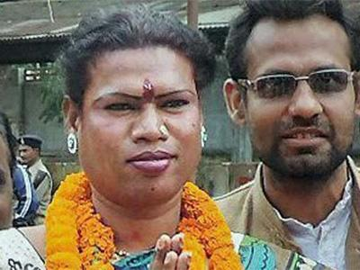In trailblazing news: A transgender woman was elected mayor in India