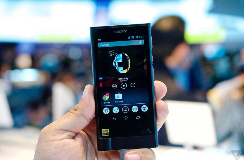 """The new Sony Walkman is cool and all, but does it come with """"action grip?"""""""