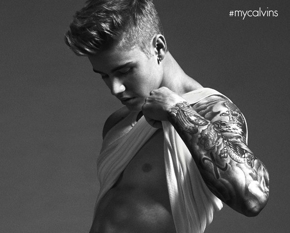 27 things I think when I look at Justin Bieber's undies ad