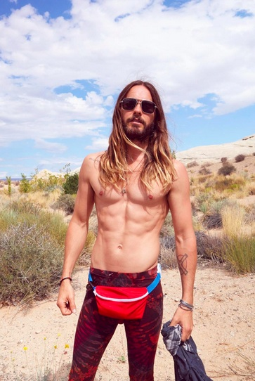 Jared Leto has an online store FILLED with Jared Leto merch (including fanny packs)