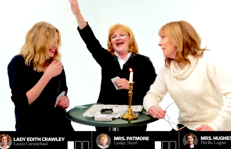 The ladies of 'Downton Abbey' play a pearl-clutching game of Cards Against Humanity