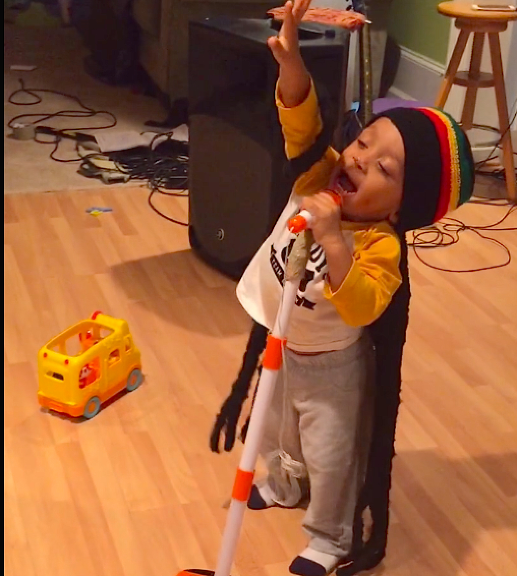 This Baby Bob Marley impersonator will make you want to 'Get Up, Stand Up'