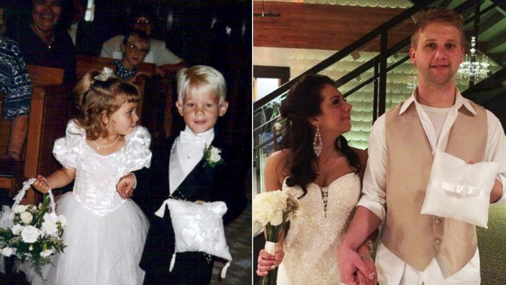 Seriously fate? This ring bearer and flower girl got married 20 years later