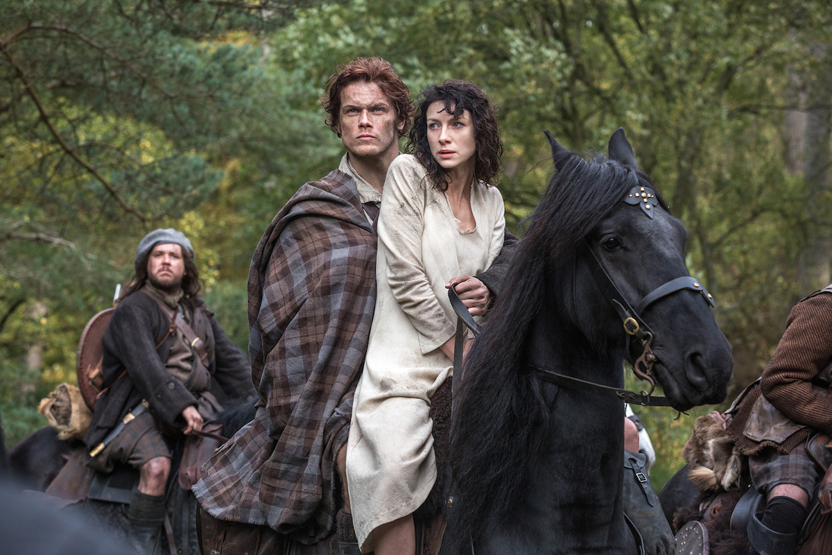 We have a full-length 'Outlander' trailer, people