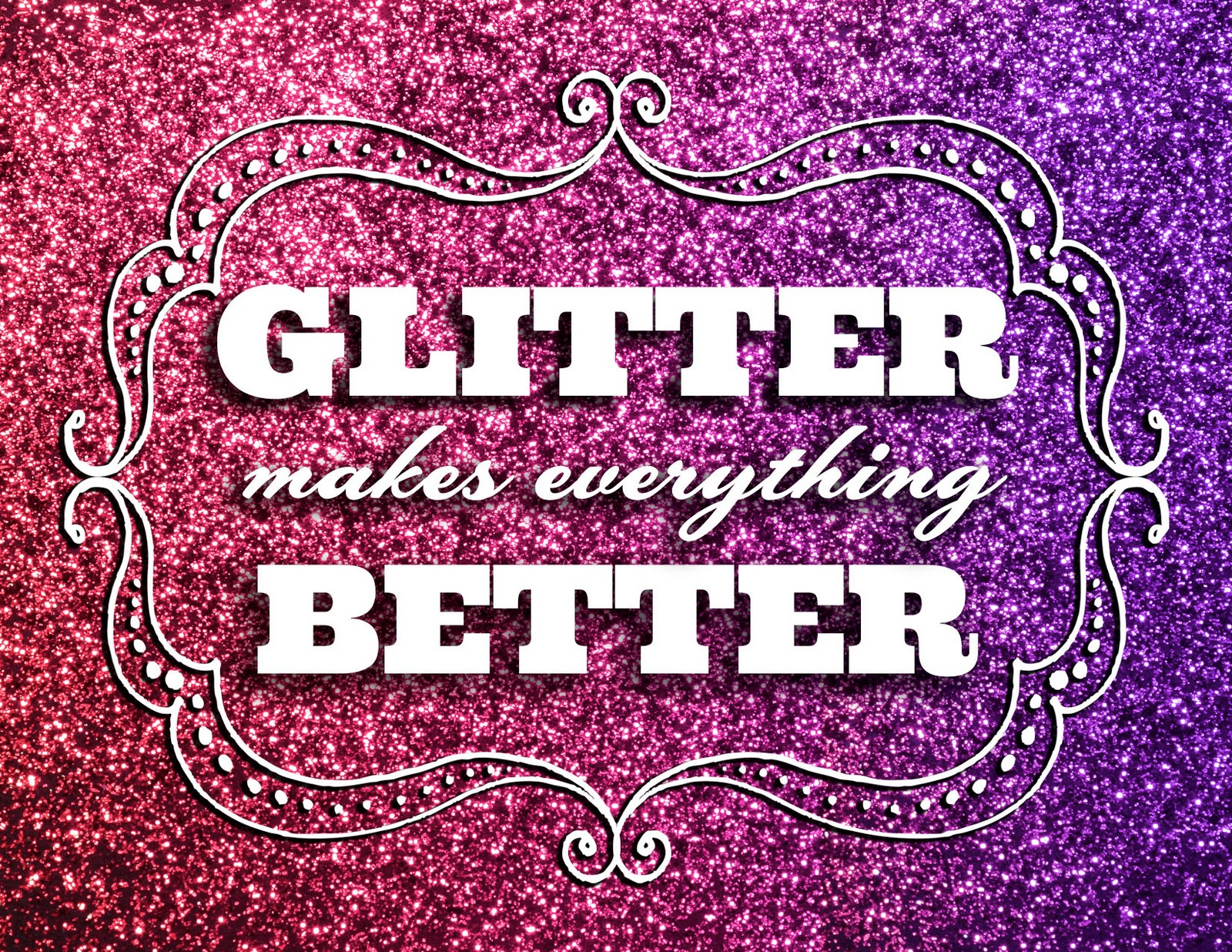 "There's a problem with this whole ""send glitter to your enemies"" sitch"