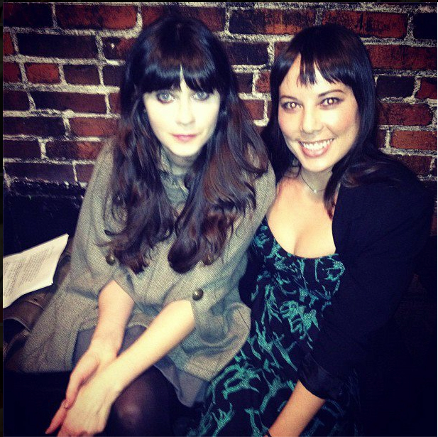 Talking with my bestie, Zooey Deschanel, about childhood memories and true friendship
