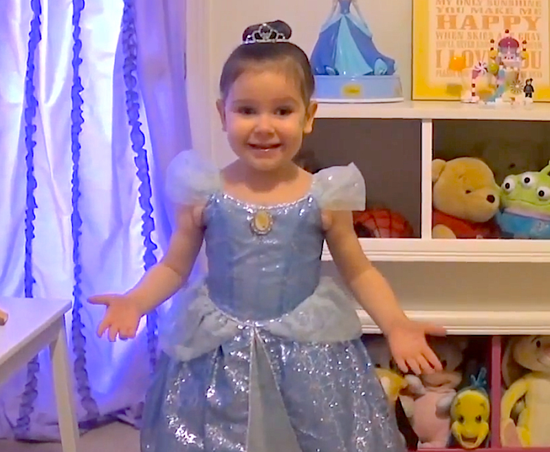"""Juni, Make-A-Wish is sending you to Disneyland!"" Watch her BFF's guide to Disney"