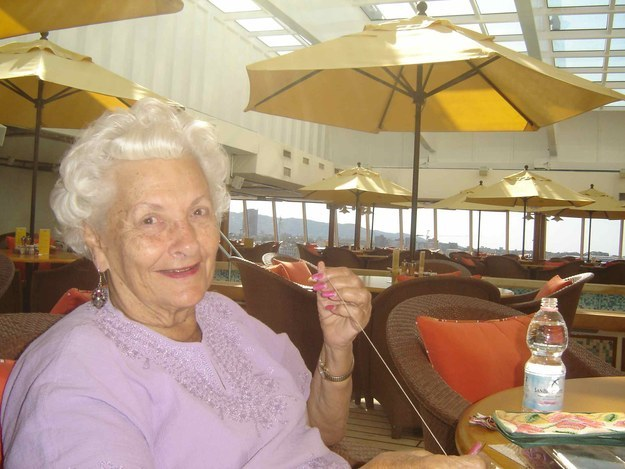 This 86-year-old woman just lives on a luxury cruise ship, because she's figured it all out