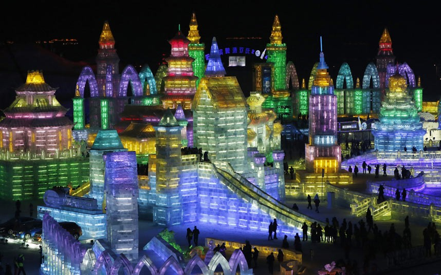 Packing our bags and heading to this utterly amazing Chinese ice festival. See ya!