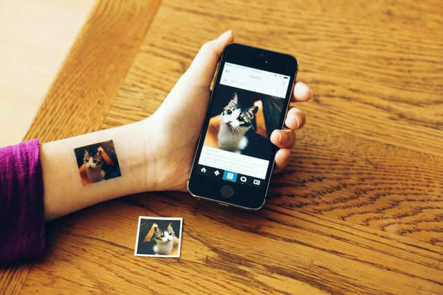 Insta-tattoos, for the Instagram addicts — which, let's face it, is all of us