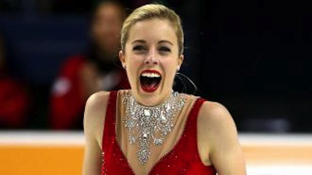 Ashley Wagner just made history with this PERFECT figure skating routine