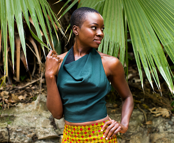FYI: 'Walking Dead' star Danai Gurira is also a really BIG DEAL playwright