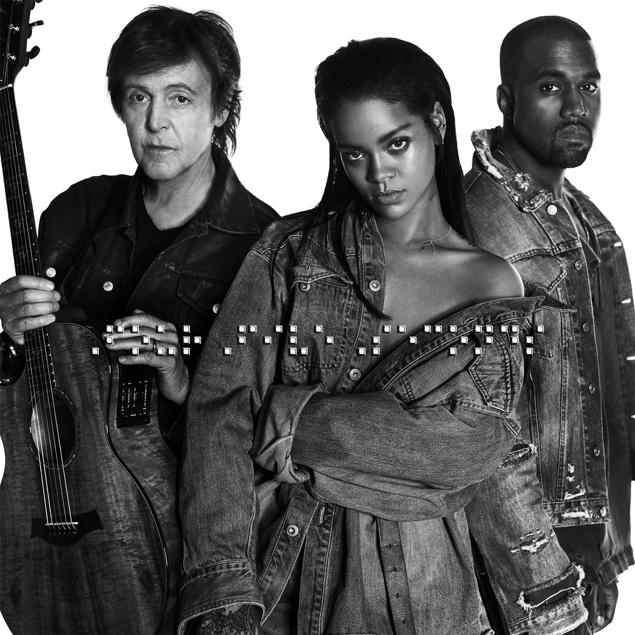 We interrupt this Sunday to bring you Kanye, Paul McCartney and RIHANNA