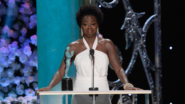 Viola Davis' singlehandedly made the SAG awards, our week