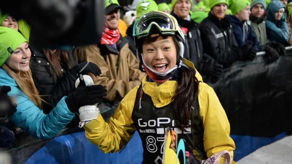 This 14-year-old girl just became the youngest winter X Games winner ever. NBD.