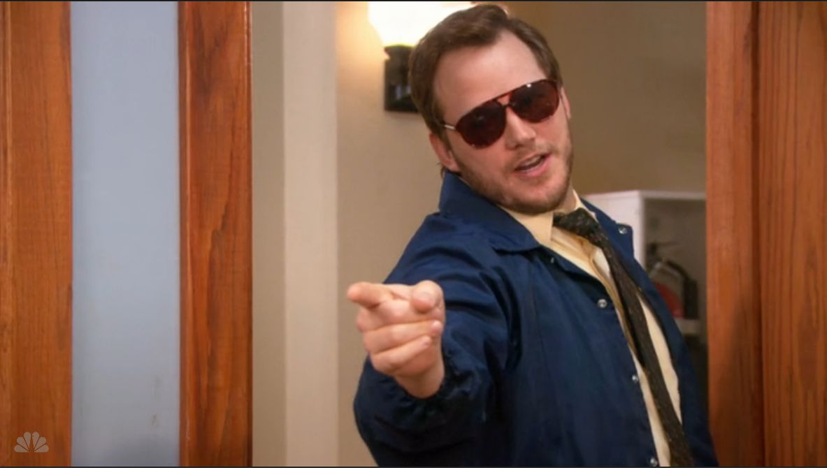 Tonight on 'Parks and Rec' Chris Pratt will reprise our fave character ever: Burt Macklin