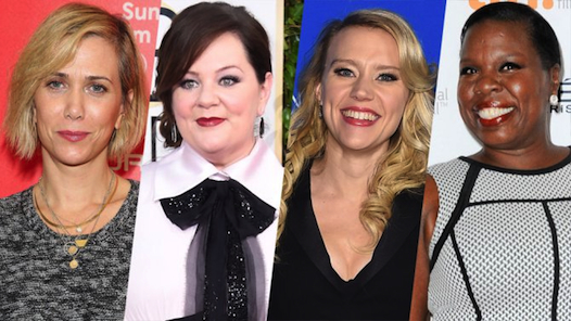 It's real. It's official. We have our lady 'Ghostbusters' cast!!