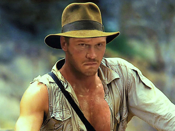 If Chris Pratt is really Indiana Jones our hearts will sing for a solid year