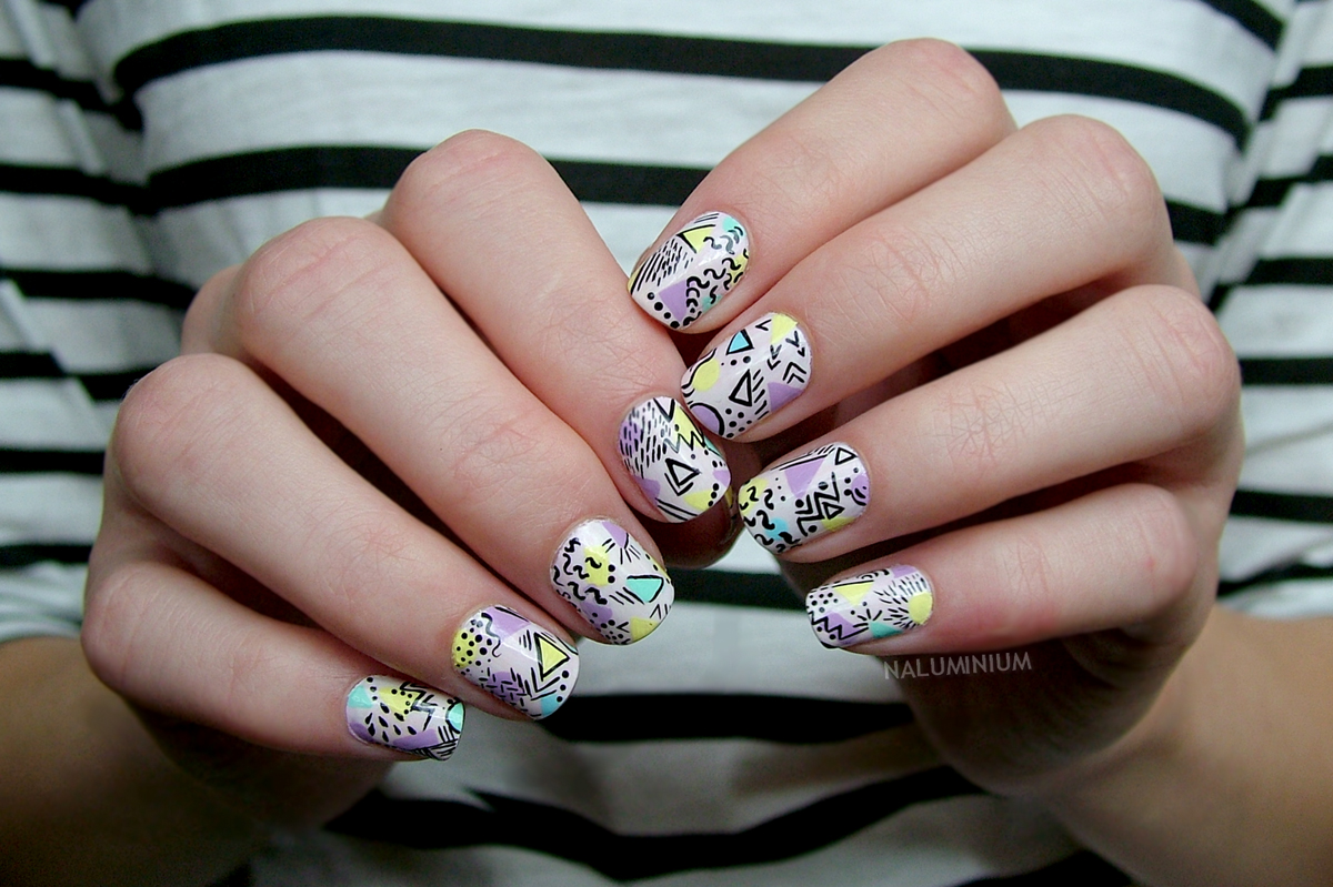Nails of the Day: '90s flashback