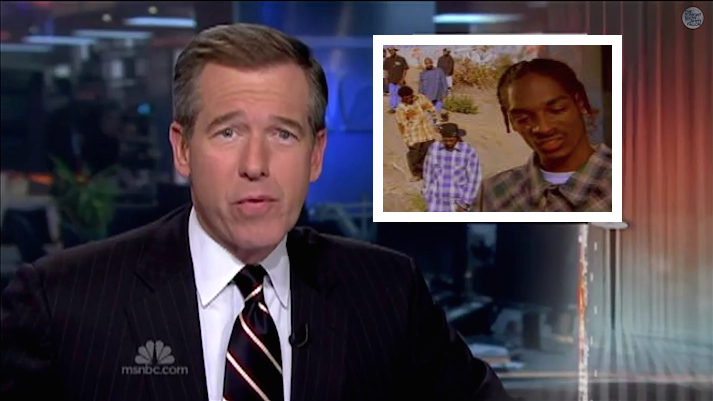 Watch Brian Williams rap Snoop Dogg's classic, 'Who Am I?'(What's My Name)