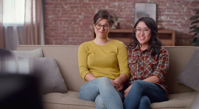 Hallmark's new Valentine's Day ad features IRL same-sex couple, and it's the sweetest