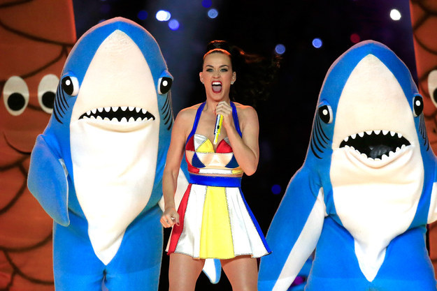 All the moments we'll never forget from Katy Perry's Super Bowl Halftime Show