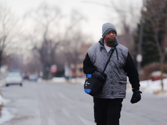 This man walks 21 miles to work a day and the Internet is pitching in to help