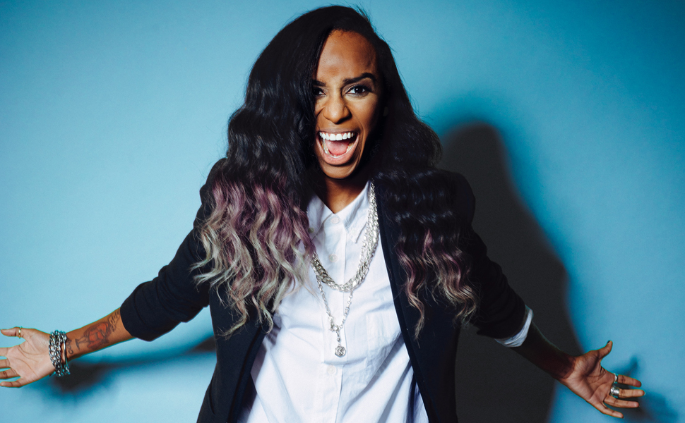 Jamming to Angel Haze's gorgeous new song about her girlfriend