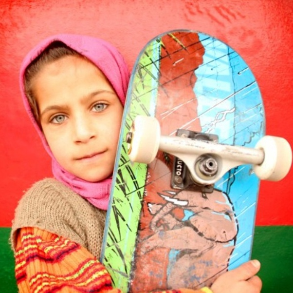 How skateboarding is changing life for this group of Afghan girls