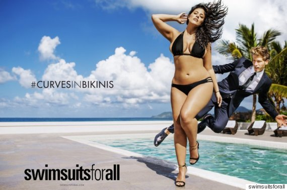 Sports Illustrated is featuring a 'plus-size' model for the first time, ever