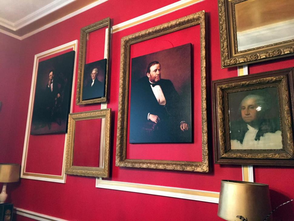 A congressman has a 'Downton Abbey'-inspired office? Yup, and it's controversial.