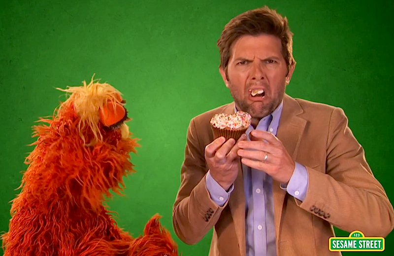 Find out why Sesame Street made Adam Scott feel awful!