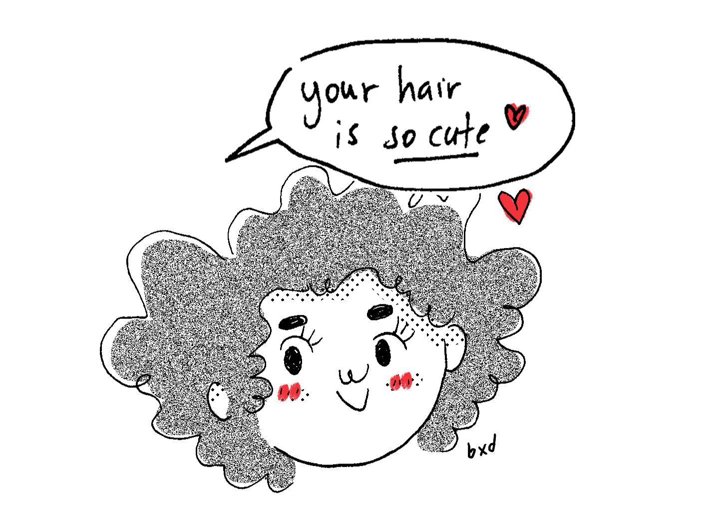 Things I've learned to love (and accept) about my awesomely curly hair