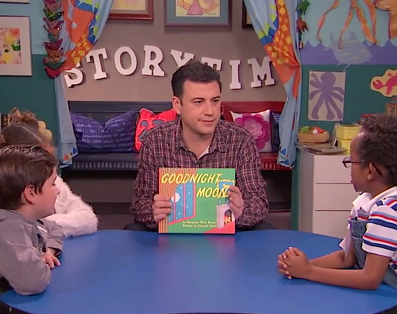Jimmy Kimmel's book club for kids is really for adults without time to read