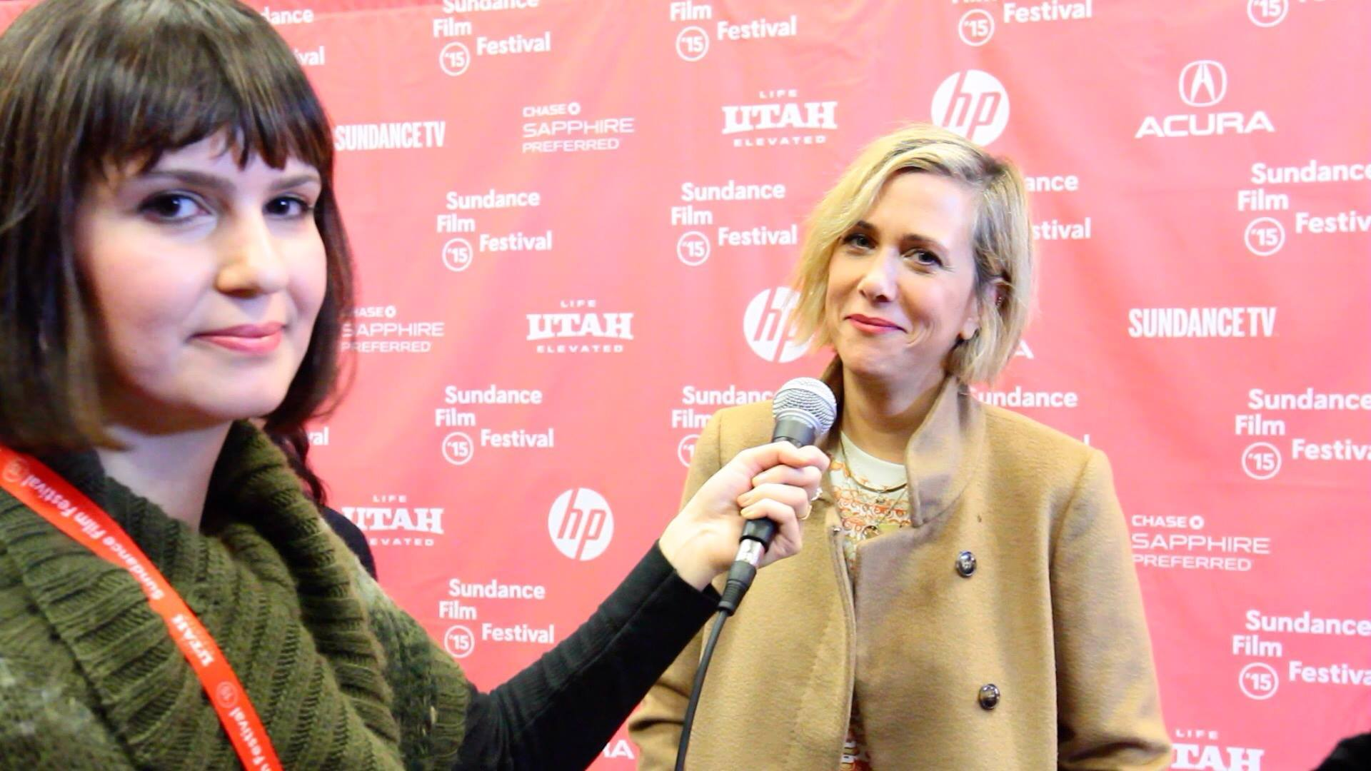 Inconveniently Interviewing all of the celebrities at Sundance!