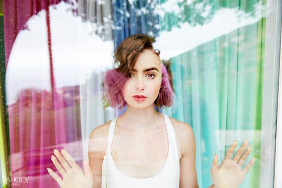 Lily Collins, THANK YOU for the amazing breakup advice