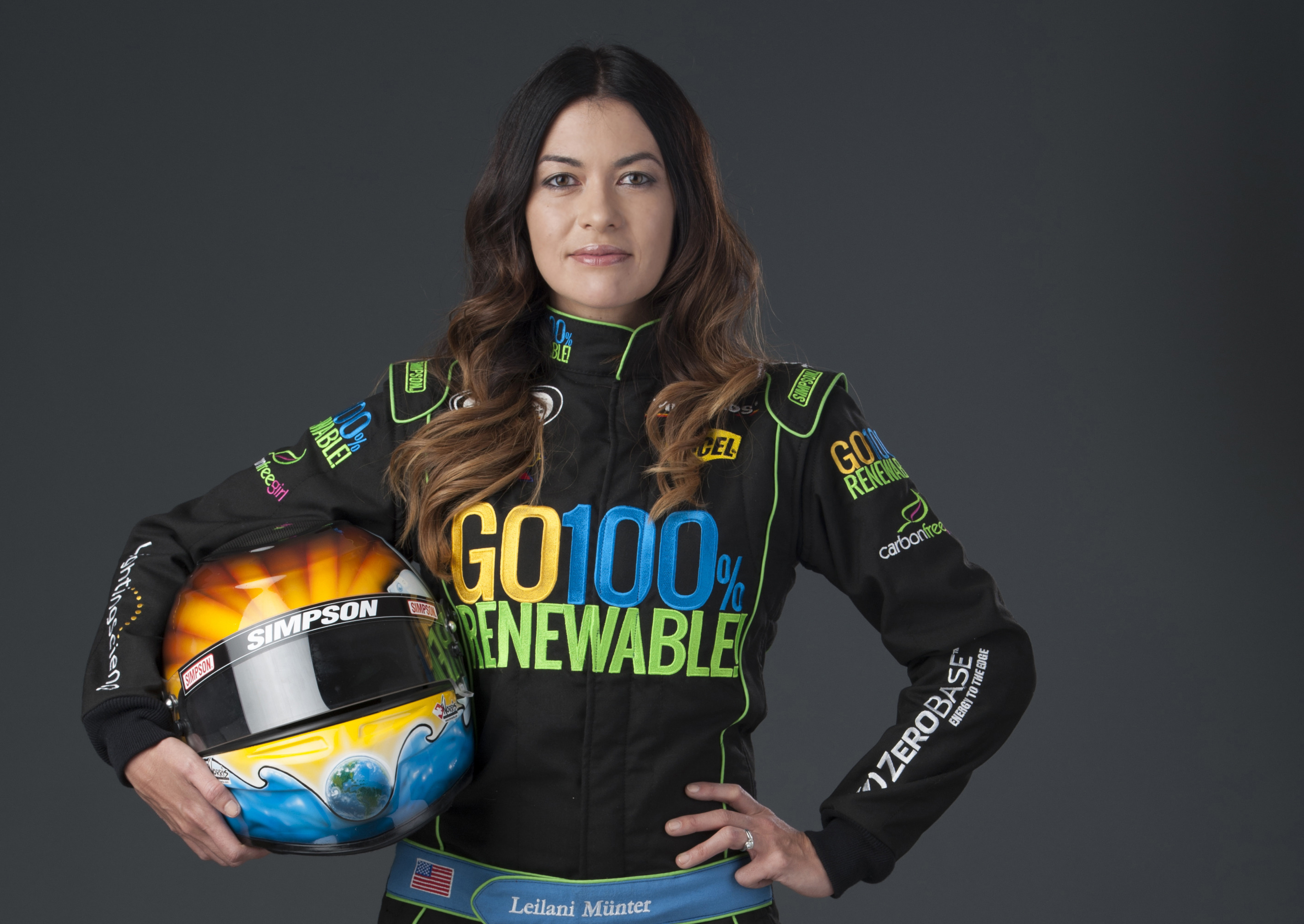 "She calls herself ""a vegan hippie chick with a race car"" and we're obsessed"