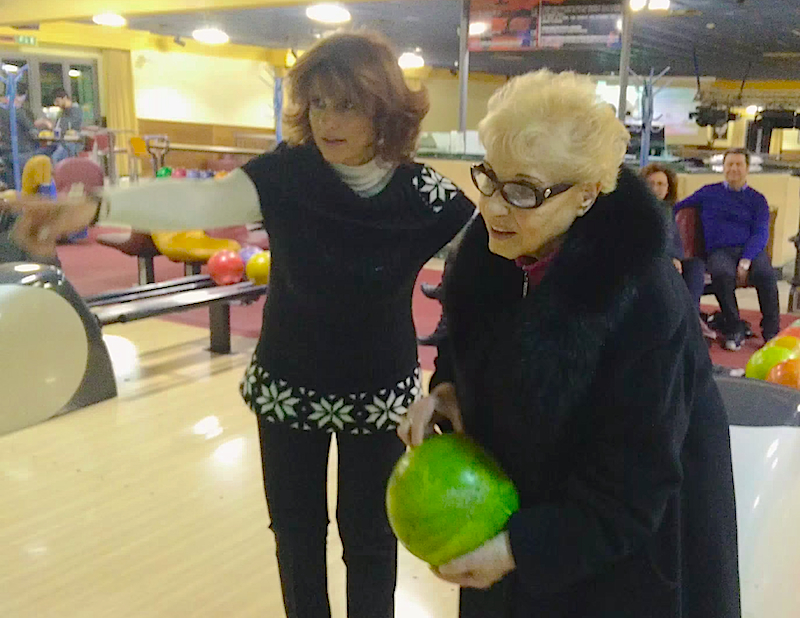 Witness this 84-year-old grandma bowl a strike on her very first roll!