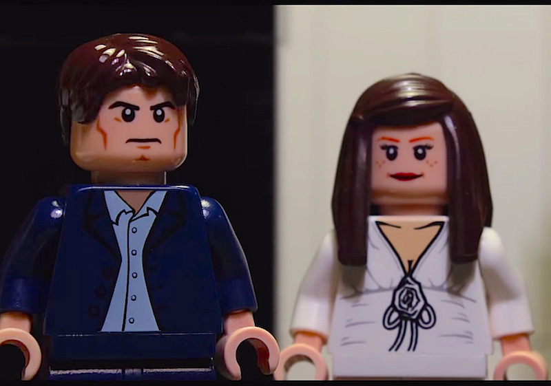 'Fifty Shades of Grey' trailer gets a Lego makeover in 'Fifty Shades of Bricks'