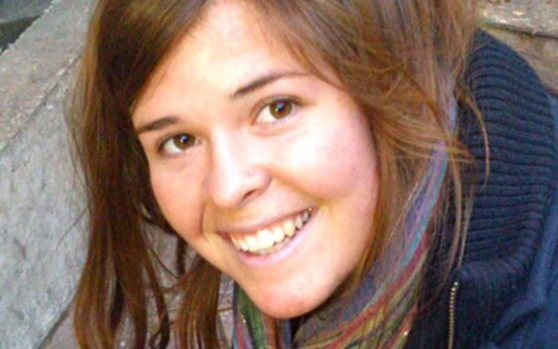 Today we're mourning the tragic loss of aid worker Kayla Mueller