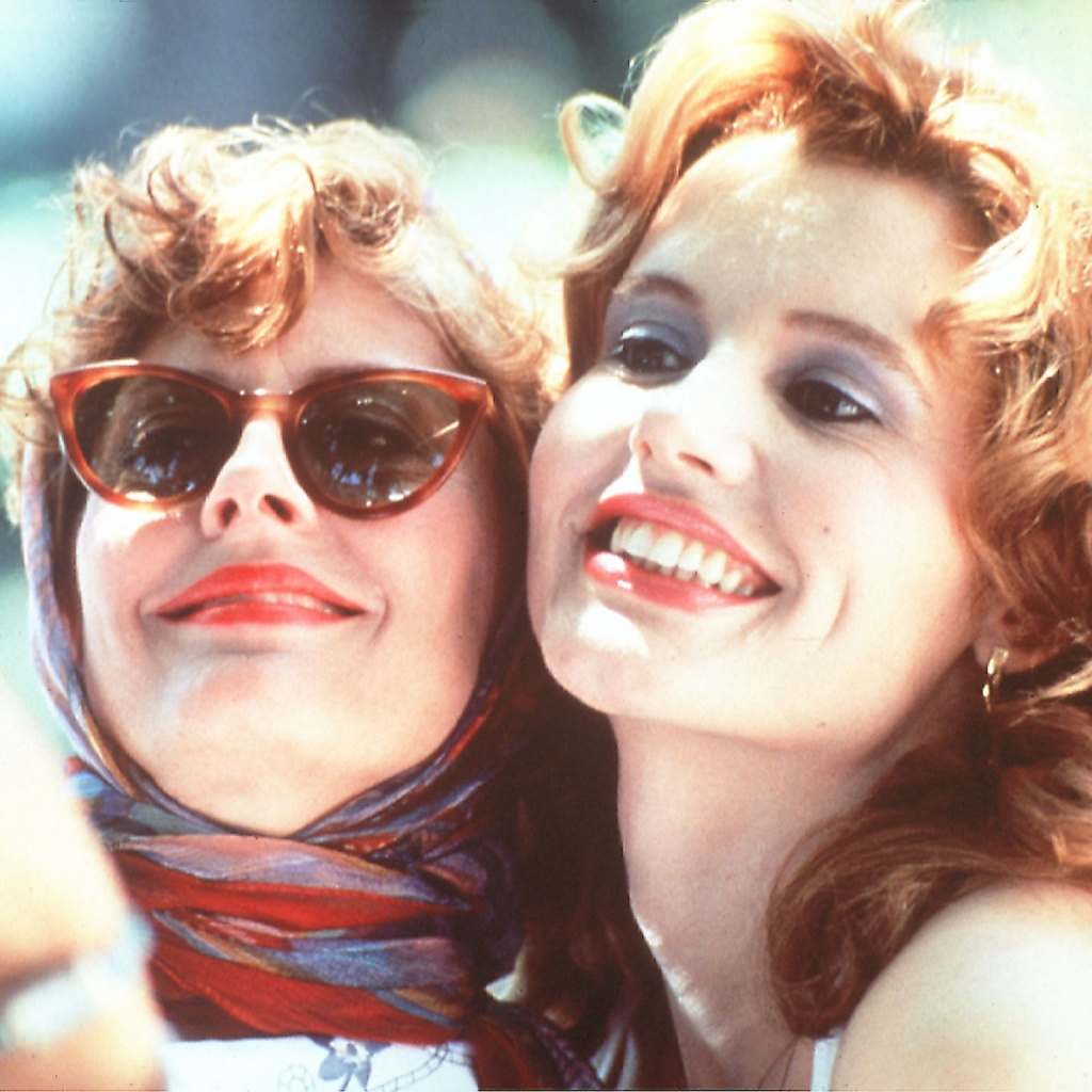 We are TOTALLY DOWN for a 'Thelma and Louise' reunion