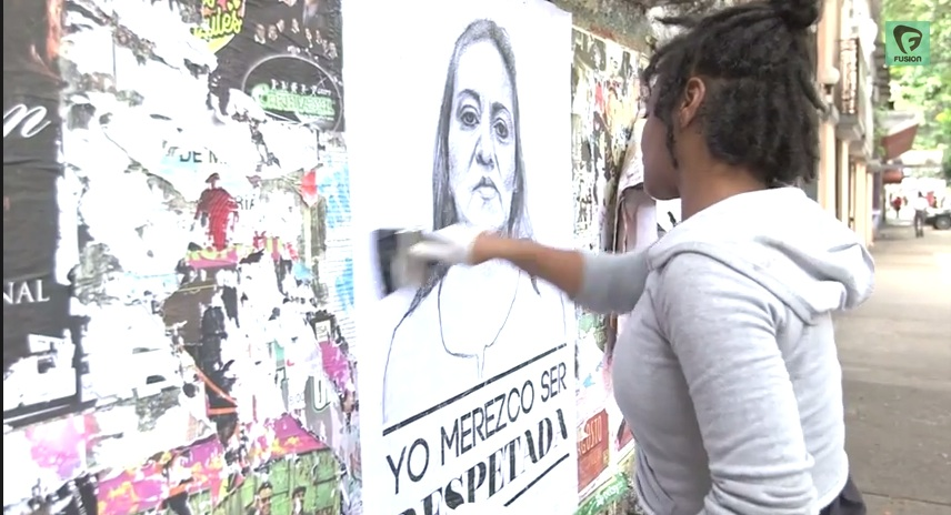 The 'Stop Telling Women To Smile' anti-street harassment campaign goes to Mexico