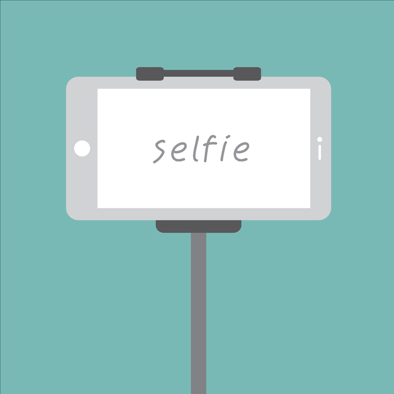Be a good human, follow selfie stick etiquette