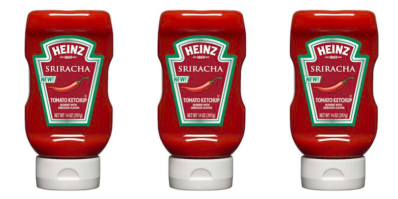 Don't everyone panic at once, but sriracha ketchup is here